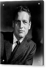 Paul Newman Acrylic Print by Everett