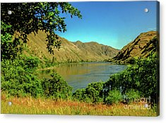 Peaceful Snake River Acrylic Print