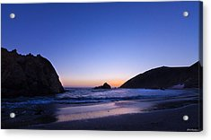 Pfeiffer Beach Acrylic Print