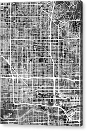 Phoenix Arizona City Map Acrylic Print