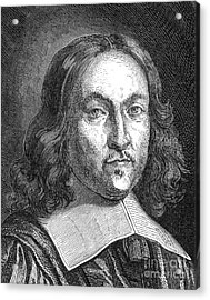 Pierre De Fermat, French Mathematician Acrylic Print by Science Source