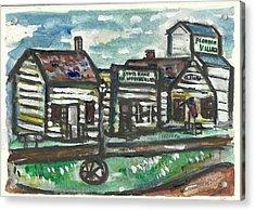 Pioneer Village Acrylic Print by Matt Gaudian