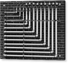 Pipes Acrylic Print by Robert Ullmann