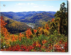 Point Mountain Overlook Acrylic Print by Thomas R Fletcher