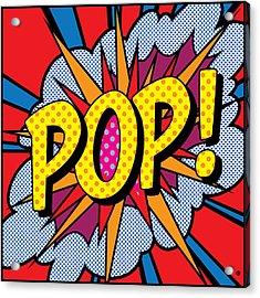 Pop Art - 4 Acrylic Print