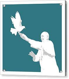 Pope Francis Acrylic Print