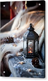 Porch Decoration Acrylic Print by Kati Molin