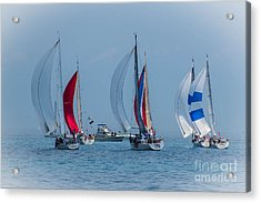 Port Huron To Mackinac Race 2015 Acrylic Print