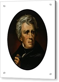 President Andrew Jackson  Acrylic Print by War Is Hell Store