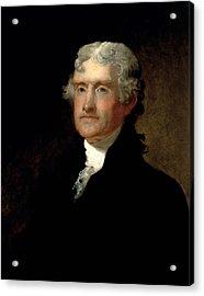 President Thomas Jefferson  Acrylic Print