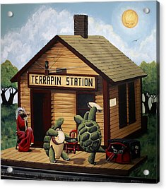 Recreation Of Terrapin Station Album Cover By The Grateful Dead Acrylic Print