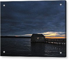 Acrylic Print featuring the photograph Redondo Pier by Sean Griffin