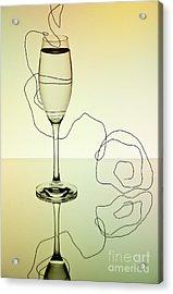 Reflection Acrylic Print by Nailia Schwarz