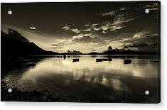 Reflective Serenity Acrylic Print