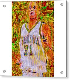 Reggie Miller. Ucla. Indiana Pacers Acrylic Print