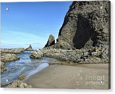 Acrylic Print featuring the photograph Roads End by Peggy Hughes
