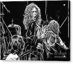 Robert Plant Led Zeppelin Acrylic Print