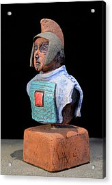Roman Legionaire - Warrior - Ancient Rome - Roemer - Romeinen - Antichi Romani - Romains - Romarere Acrylic Print by Urft Valley Art