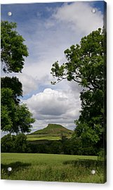 Roseberry Topping Acrylic Print by Gary Eason