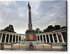 Russian Liberation Monument Acrylic Print by Andre Goncalves