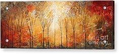 Rustic Woods Acrylic Print