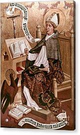 Saint Augustine (354-430) Acrylic Print by Granger