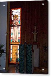San Bernardo Abad Acrylic Print
