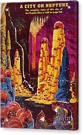 Science Fiction Magazine Acrylic Print by Granger