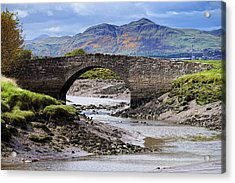 Acrylic Print featuring the photograph Scottish Scenery by Jeremy Lavender Photography
