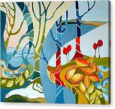 Seasons Of Creation Acrylic Print by Carola Ann-Margret Forsberg