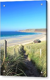Sennen Cove Acrylic Print by Carl Whitfield