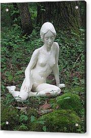 Serenity Acrylic Print by Deborah Dendler