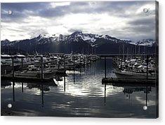 Seward Harbor Acrylic Print