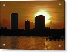 Acrylic Print featuring the photograph 2- Singer Island by Joseph Keane