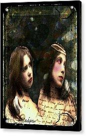 Two Sisters Acrylic Print
