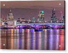 Skyline Of London Acrylic Print by Joana Kruse