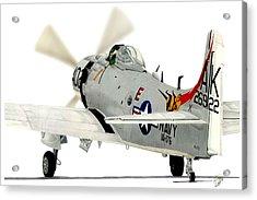Skyraider Acrylic Print by Lyle Brown