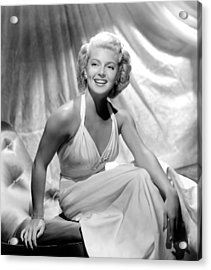 Slightly Dangerous, Lana Turner, 1943 Acrylic Print by Everett