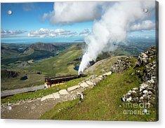 Snowdon Mountain Railway Acrylic Print