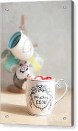 Acrylic Print featuring the photograph Something Good by Aiolos Greek Collections