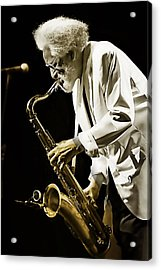 Sonny Rollins Collection Acrylic Print by Marvin Blaine