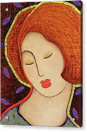 Acrylic Print featuring the painting Soul Memory by Gloria Rothrock