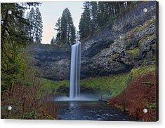 South Falls At Silver Falls State Park Acrylic Print