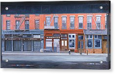 South Street Acrylic Print by Anthony Butera