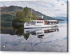 Steamship Sir Walter Scott On Loch Katrine Acrylic Print