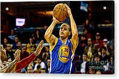 Steph Curry Collection Acrylic Print