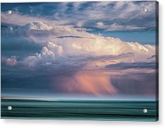 Storm On The Sound Acrylic Print