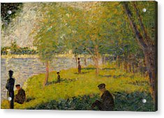 Study For Sunday Afternoon On The Island Of La Grand Jatte Acrylic Print