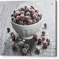 Sugared Cranberries Acrylic Print by Elena Elisseeva