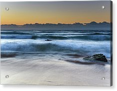 Sunrise By The Sea Acrylic Print